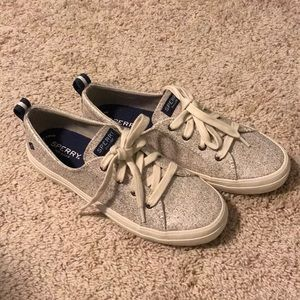Sperry Top Sider Lace Up Sparkle Sneakers